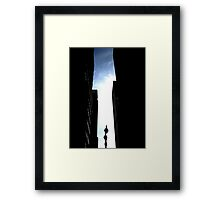 And the world didn't end Framed Print