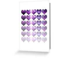 Galaxy Heart Fade Greeting Card