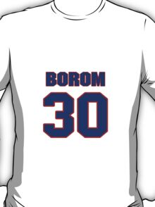 National baseball player Red Borom jersey 30 T-Shirt