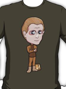 Star Trek DS9 - Odo with his Bucket Changeling Shapeshifter Chibi Sticker T-Shirt