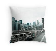 #@!%# Tourist! Throw Pillow