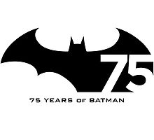 Batman 75th Anniversary by JeremithRainces