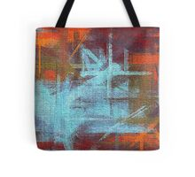 Abstract painted canvas #2 Tote Bag
