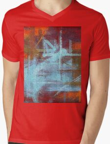Abstract painted canvas #2 Mens V-Neck T-Shirt