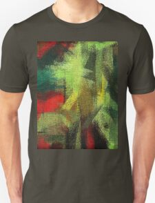 Abstract painted canvas #3 Unisex T-Shirt