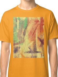 Abstract painted canvas #4 Classic T-Shirt