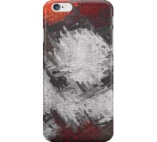 Abstract painted canvas #6 iPhone Case/Skin