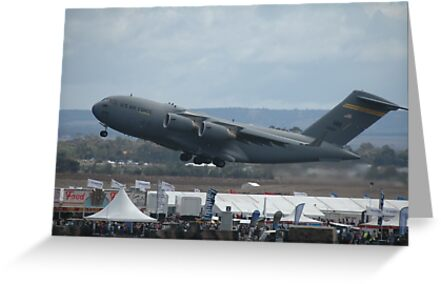 Take-off: C17, @ Avalon Airshow, Australia 2007 by muz2142