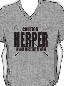 CAUTION HERPER T-Shirt