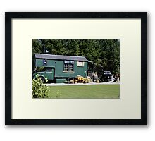 For Sally And Her Gypsy Grandfather Framed Print
