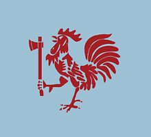 Kenyan Court of Arms Cockerel with Axe - Red Unisex T-Shirt