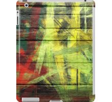 Abstract painted wood #2 iPad Case/Skin