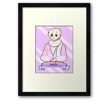 reminder from ivan Framed Print