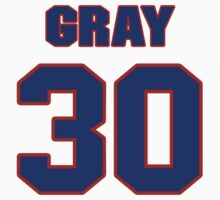National baseball player Ted Gray jersey 30 by imsport