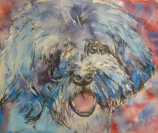 shaggy dog by christine purtle