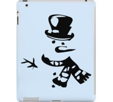 Snow Man iPad Case/Skin