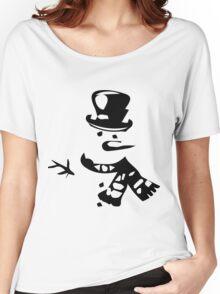 Snow Man Women's Relaxed Fit T-Shirt