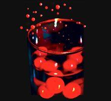 red bubble bubbly Mens V-Neck T-Shirt