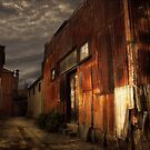 Fitzroy back alley by Aaron .