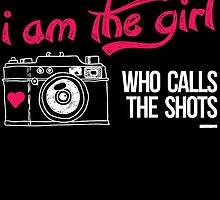 Trust me am the girl who calls the shots by teeshoppy