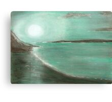 JADE MOON Canvas Print