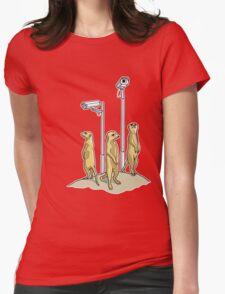 Meerkat CCTV Womens T-Shirt