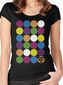 Colours! Women's Fitted Scoop T-Shirt