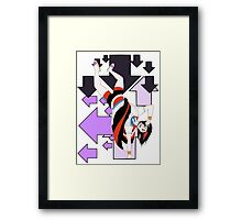 Seija Kijin and arrows Framed Print