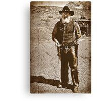 The Gun Slinger Canvas Print