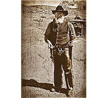 The Gun Slinger Photographic Print