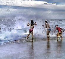 Beach Play by Annette Blattman