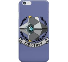 destiny ghost ensignia iPhone Case/Skin