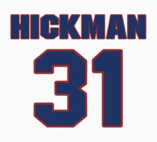 National baseball player Jesse Hickman jersey 31 by imsport