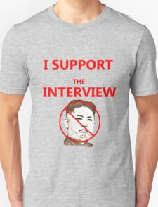 The Interview Supporter Protest Tee T-Shirt