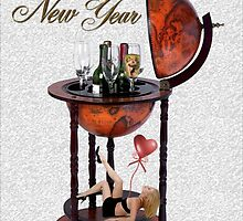 HAPPY NEW YEARS CHEERS >SEXY BAR NEW YEAR PICTURE AND OR CARD by ✿✿ Bonita ✿✿ ђєℓℓσ