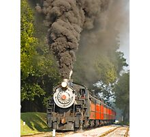 Puffing Away in Strasburg PA © Photographic Print