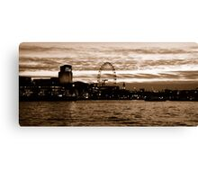 Capital View Canvas Print
