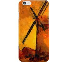 Horsey Windmill, Norfolk Broads - all products iPhone Case/Skin