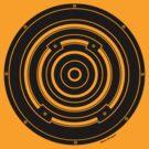 Mandala 37 Bass Back In Black  by sekodesigns