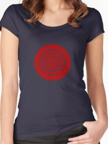 Mandala 37 Bass Colour Me Red Women's Fitted Scoop T-Shirt