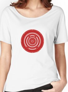 Mandala 37 Bass Colour Me Red Women's Relaxed Fit T-Shirt