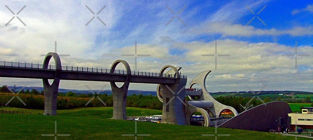 The Falkirk Wheel IV by Tom Gomez