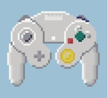 8Bit GameCube Controller Kids Clothes