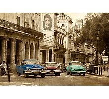 starting grid Photographic Print