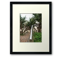 rainbow bay Framed Print