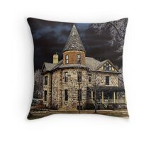Mysterious House Throw Pillow