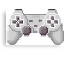 8Bit PS1 Controller Canvas Print