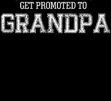only the best dads get promoted to GRANDPA by birthdaytees