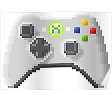 8Bit Xbox Controller Poster