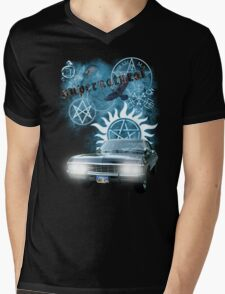 Supernatural theme 2 Mens V-Neck T-Shirt